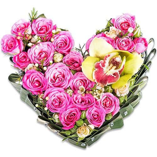 """""""Элегия любви"""". Композиция цветочная"""